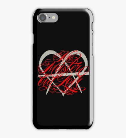 No Master But Love iPhone Case/Skin