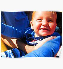 Little Boy Blue Afloat in a Boat Poster
