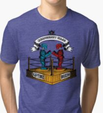 Old-Time Boxing Tri-blend T-Shirt