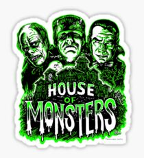 House of Monsters Sticker