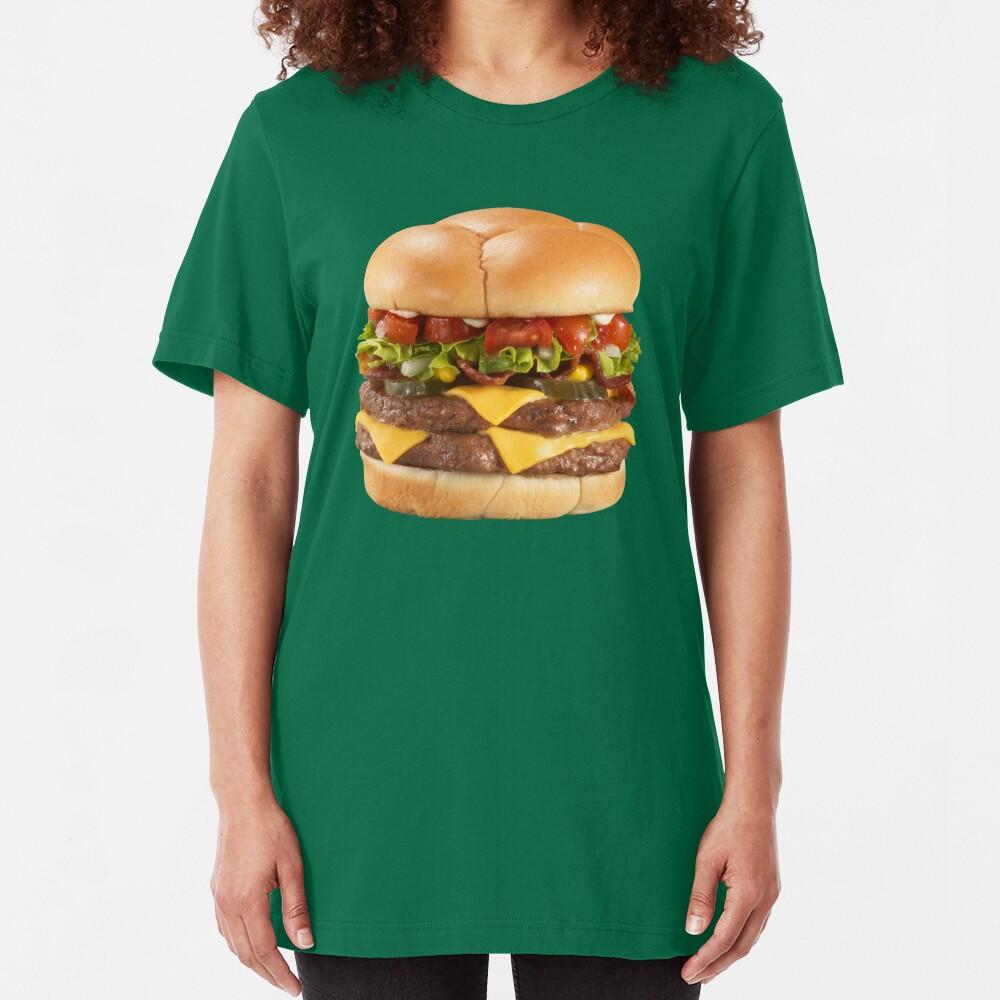 big burger Slim Fit T-Shirt