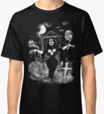 Vampira Plan 9 zombies Classic T-Shirt