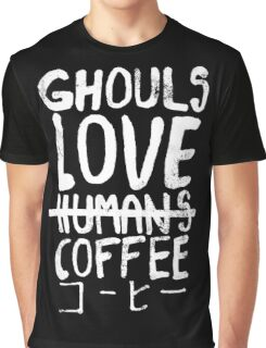 Ghouls love coffee Graphic T-Shirt