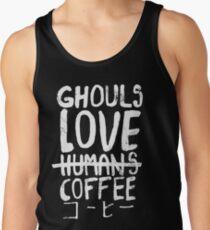 Camiseta de tirantes Ghouls encanta el café