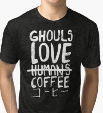 Ghouls love coffee Tri-blend T-Shirt