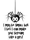 Scream like a girl! by Lissywitch