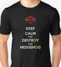 Keep Calm Robotnik Unisex T-Shirt