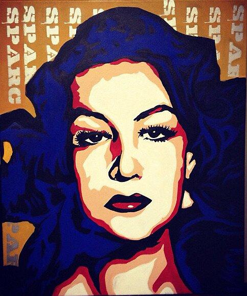 La Dona-Maria Felix by Sparc_ eg