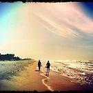 Beach in La Ceiba, Honduras by Jessica Chirino Karran