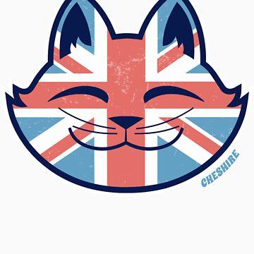 Cheshire POP! - UK Cat by CheshireGoMad