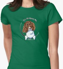 Springer Spaniel :: It's All About Me Women's Fitted T-Shirt