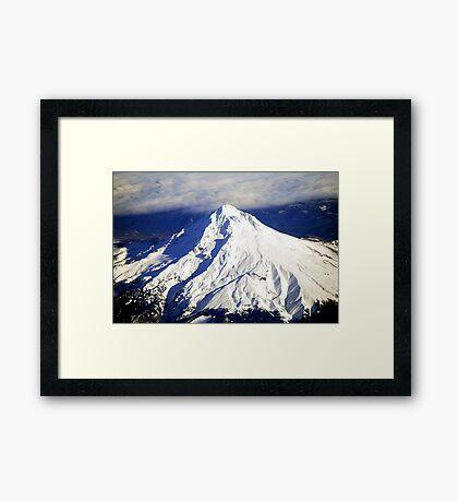 Beautiful Mt. Hood Framed Print
