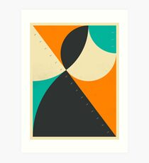 PYTHAGOREAN TRIAD 8 Art Print