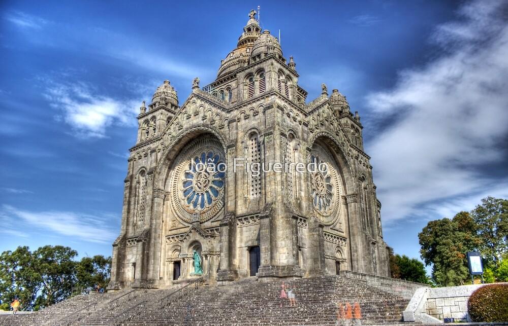 Saint Luzia's Basilica - Revisited by João Figueiredo