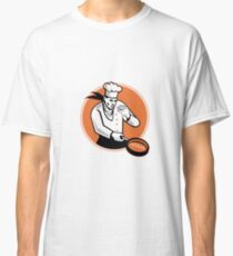 Chef Cook Cooking Pan Circle Classic T-Shirt