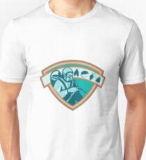 Pest Control Exterminator Worker Shield T-Shirt