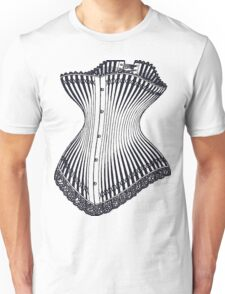 Hourglass Corset Illustration 1878 T-Shirt