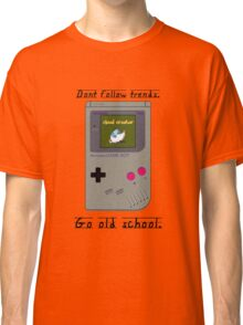 Old School Gameboy. Classic T-Shirt