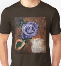 Purple Rose Unisex T-Shirt