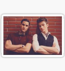 Badass Klaine Sticker