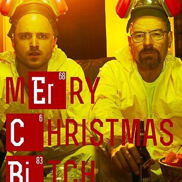 Merry Christmas, B***h - Walt and Jesse (Breaking Bad) by askyfullofstars