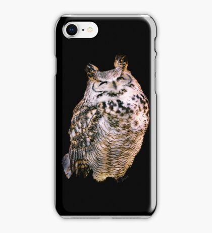 Smiling Owl iphone iPhone Case/Skin
