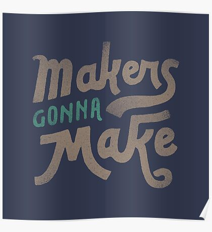 Makers Poster