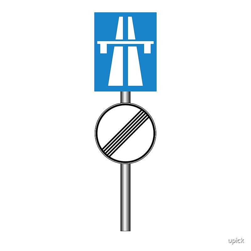Image result for autobahn no speed limit sign