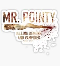 Mr. Pointy Sticker