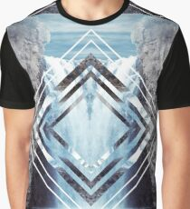 Waterfall Polyscape Graphic T-Shirt