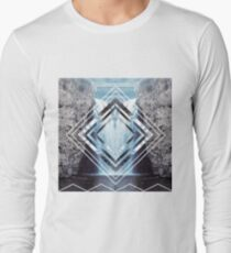 Waterfall Polyscape Long Sleeve T-Shirt