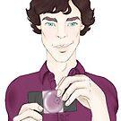 Sherlock Holmes by loveginger
