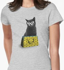 The Cat in the Bag of Tricks Women's Fitted T-Shirt