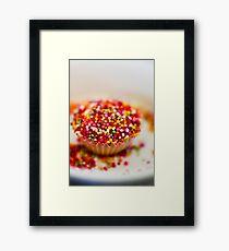 Baking Cupcakes Framed Print