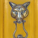 Fox Head Door Knocker by Ethna Gillespie