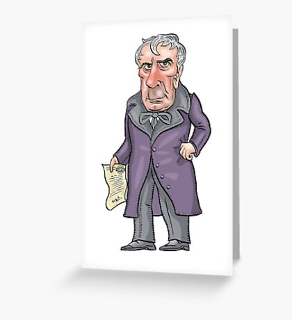 William Henry Harrison Greeting Card