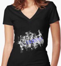 Dubstep 3 Women's Fitted V-Neck T-Shirt