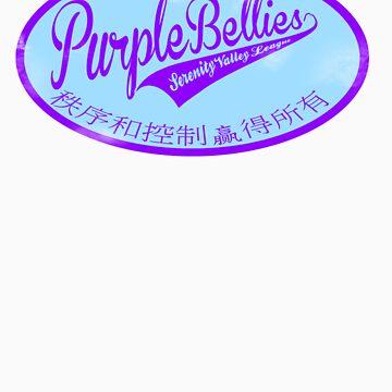 Alliance Purple Bellies Baseball by WayneT37
