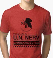 TOKYO-3 NERV  Tri-blend T-Shirt
