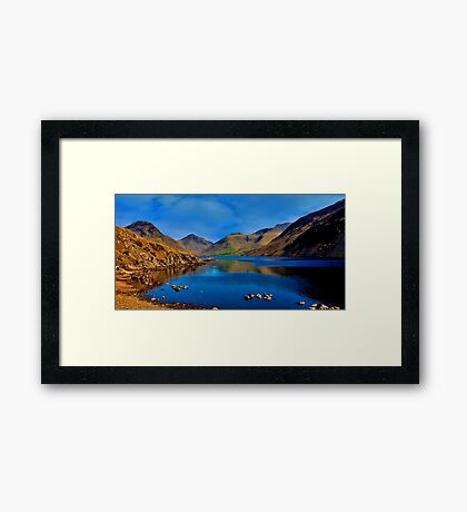 Wastwater Lake District Framed Print