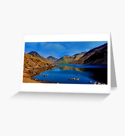 Wastwater Lake District Greeting Card