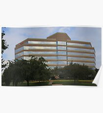 Office Building, Fairfax VA Poster