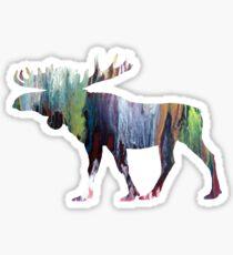 Moose  Sticker