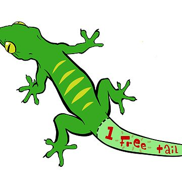 Gecko Coupon (One Free Tail) by UltimateHurl