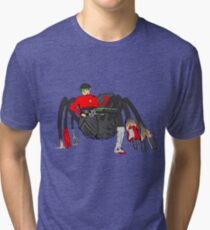 Spider Spok Tri-blend T-Shirt