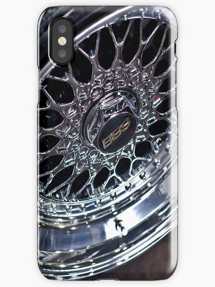 BBS RS iPhone Case by Adam Kennedy