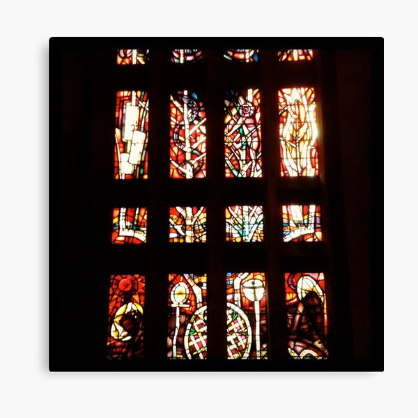 Windows, Coventry Cathedral Canvas Print