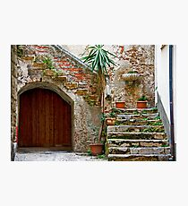 Cefalu Staircase Photographic Print