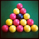Pool balls by Robert Steadman