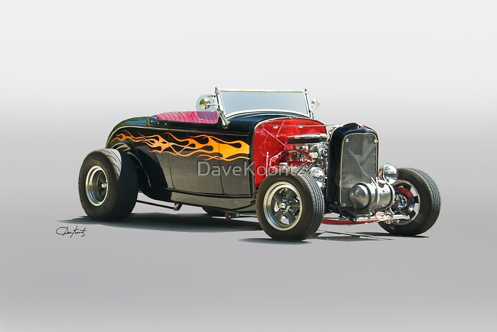 1932 Ford Roadster 'Oh Daddy-O' by DaveKoontz
